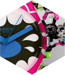 Kidrobot for Swatch: time of kidults