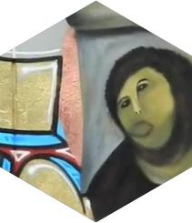 Wallpeople homenajea al Ecce Homo de Cecilia
