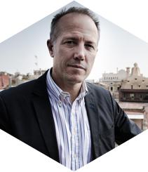 Entrevista a Albert Bosch a la terrassa de l'Hotel OMM