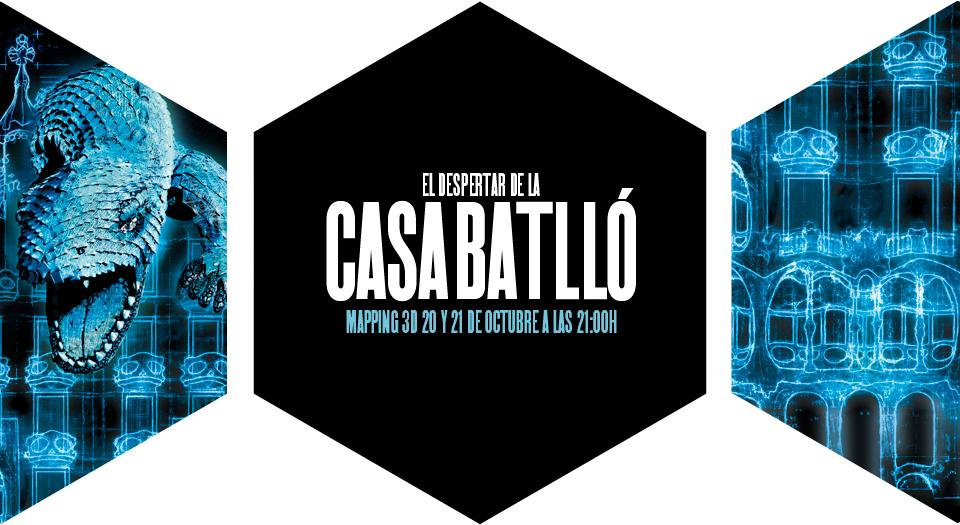 Mapping3d CasaBatllo cast Nº6. Superación.