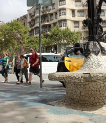 Xavier Trias presenta el plan de reforma del Passeig de Gràcia