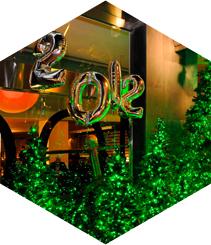 Cenas navideñas en hoteles de lujo