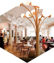 Gastronomia cultural al Café de la Pedrera