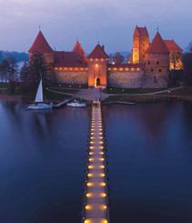 Una mirada a Lituania desde el cielo