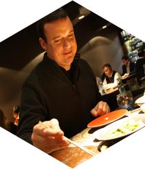 Entrevista a Roger Ortuño (comerjapones) en el restaurante Nomo