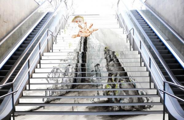 swab-stairs-paseo-de-gracia-hologramaticos