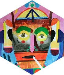 Victoria Art, una singular exposición en formato collage