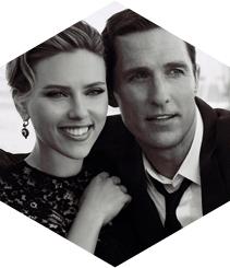 Scarlett Johansson y Matthew McConaughey bajo la dirección de Martin Scorsese