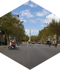Suben las rentas de Paseo de Gracia y Rambla Catalunya