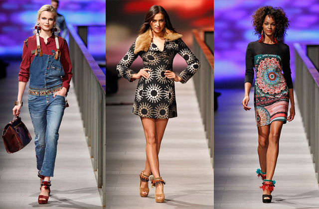 080 barcelona fashion desfile DESIGUAL Día2: #080BcnFashion