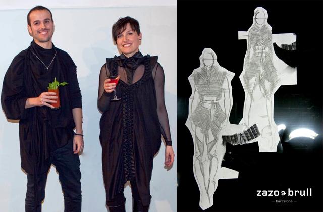 080 barcelona fashion desfile entrevista ZAZO BRULL paseo de gracia Lo que verás en la 080 Barcelona Fashion