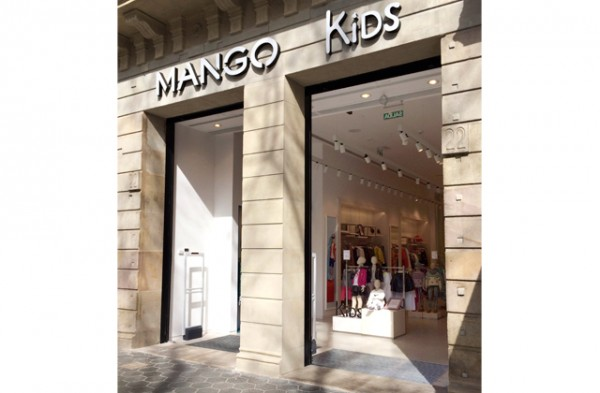 mango kids estrena flagship passeig de gr cia. Black Bedroom Furniture Sets. Home Design Ideas