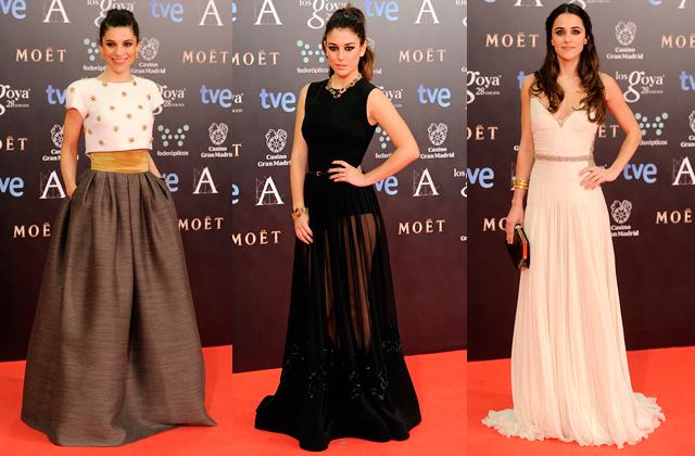 premios goya 2014 vestidos famosas paseo de gracia Premios Goya 2014