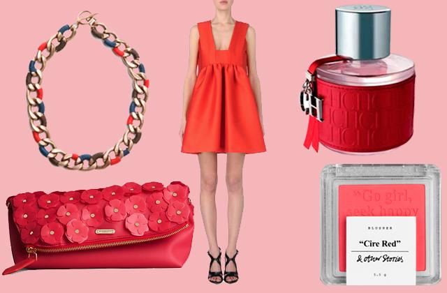 regalos de san valentin para mujer paseo de gracia Todo al rojo