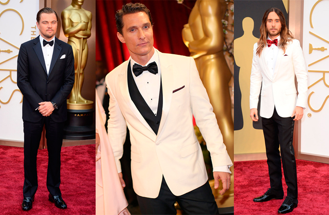 oscars 2014 alfombra roja leonadro dicaprio matthew mcconaughey And the Oscar goes to...