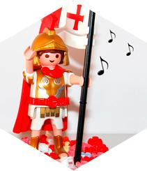 A (Sant) Jordi li agrada la música