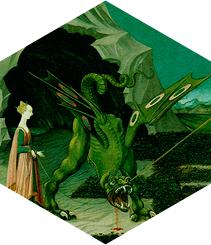 Bolsos de piel de dragón en Sant Jordi