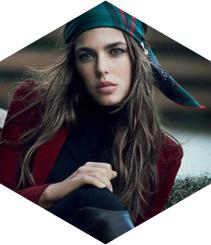 Gucci se inicia en el mundo beauty con Carlota Casiraghi