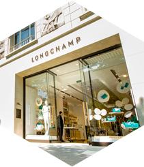 Primera tienda Longchamp en Barcelona