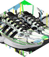 Personalitza les teves Adidas ZX Flux des del mòbil