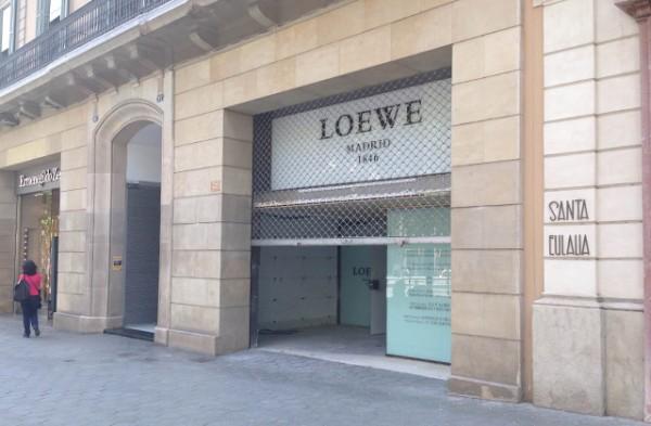 galeria-loewe-paseo-de-gracia-cerrada
