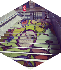 Swab Stairs 2014, disseny urbà contemporani