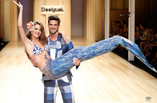 080 barcelona fashion desfile desigual2 La segunda jornada del 080 Barcelona Fashion