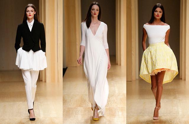 080 barcelona fashion desfile menchen tomas La segunda jornada del 080 Barcelona Fashion
