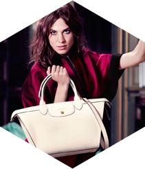 Alexa Chung encarna l'esperit Longchamp