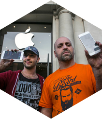 iPhone 6 goes on sale in Paseo de Gracia