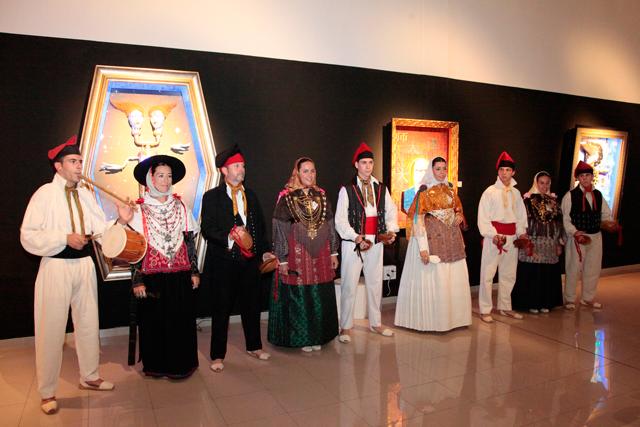 evento b12 gallery en ibiza by carlos martorell colla sant jordi El cosmos de Franck R. Tassi a la B12 dEivissa