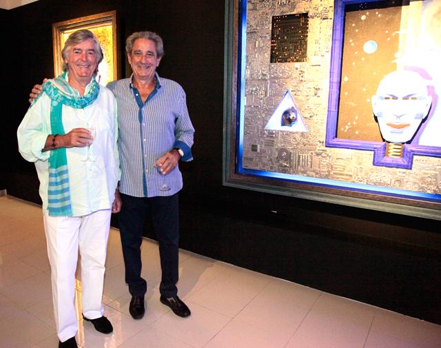 evento b12 gallery en ibiza by carlos martorell daniel busturia y amador oreja El cosmos de Franck R. Tassi a la B12 dEivissa