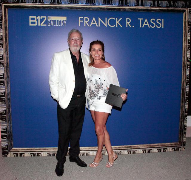 evento b12 gallery en ibiza by carlos martorell frank tassi ana megido 2 El cosmos de Franck R. Tassi a la B12 dEivissa