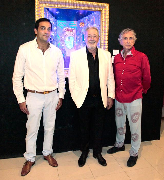 evento b12 gallery en ibiza by carlos martorell frank tassi behdad hadi El cosmos de Franck R. Tassi a la B12 dEivissa
