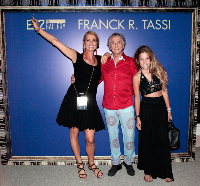 evento b12 gallery en ibiza by carlos martorell frank tassi carmen manzano 2 El cosmos de Franck R. Tassi a la B12 dEivissa