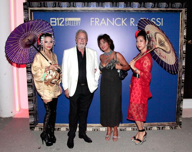 evento b12 gallery en ibiza by carlos martorell frank tassi marcella bella El cosmos de Franck R. Tassi a la B12 dEivissa