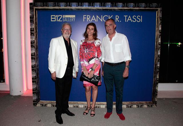 evento b12 gallery en ibiza by carlos martorell frank tassi susana huerta y jose ribas El cosmos de Franck R. Tassi a la B12 dEivissa