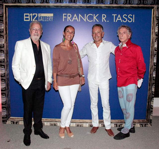 evento b12 gallery en ibiza by carlos martorell frank tassi y el consul de monaco El cosmos de Franck R. Tassi a la B12 dEivissa