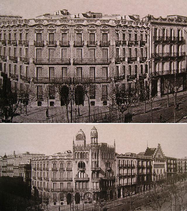 historia casa lleo morera passeig de gracia 3 Domenech i Montaner y la Casa Lleó Morera