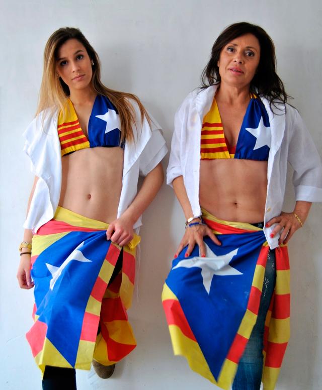 productes independentistes diada 2014 3 Con la mochila a punto hacia la independencia