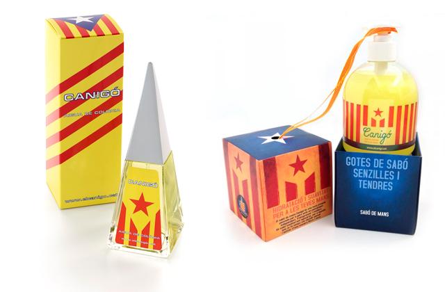productes independentistes diada 2014 6 Con la mochila a punto hacia la independencia