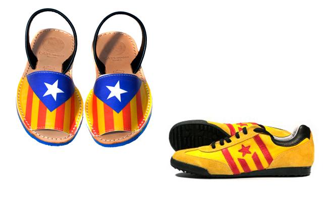 productes independentistes diada 2014 7 Con la mochila a punto hacia la independencia