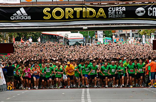 running barcelona cursa de la merce Empieza septiembre ¡corre!