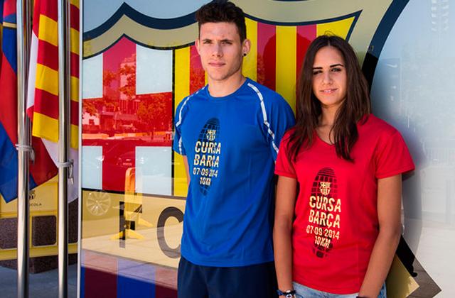 running barcelona cursa del barca Empieza septiembre ¡corre!