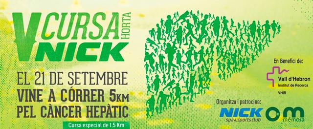 running barcelona cursa solidaria nick Empieza septiembre ¡corre!