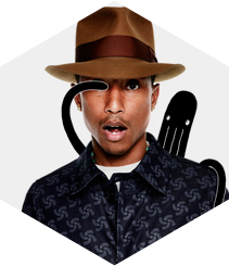 Pharrell Williams presenta RAW for the Oceans