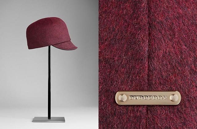 tendencia sombrero invierno burberry Los 6 sombreros más sofisticados del invierno