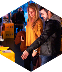 Diseño, shopping, música y food en el DHUB