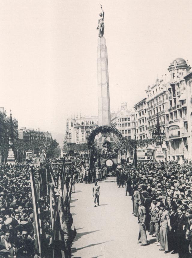 """historia la plaza del cinc doros pi i margall victoria joan carles paseo de graica 4 La singular historia de la plaza """"Cinc d'Oros"""""""