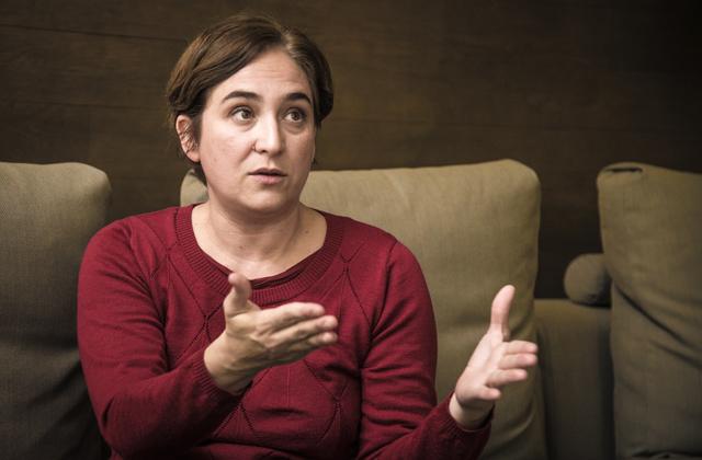 juan soto ivars entrevista ada colau barcelona 10 Yo quiero Catalunya y España con una revolución democrática